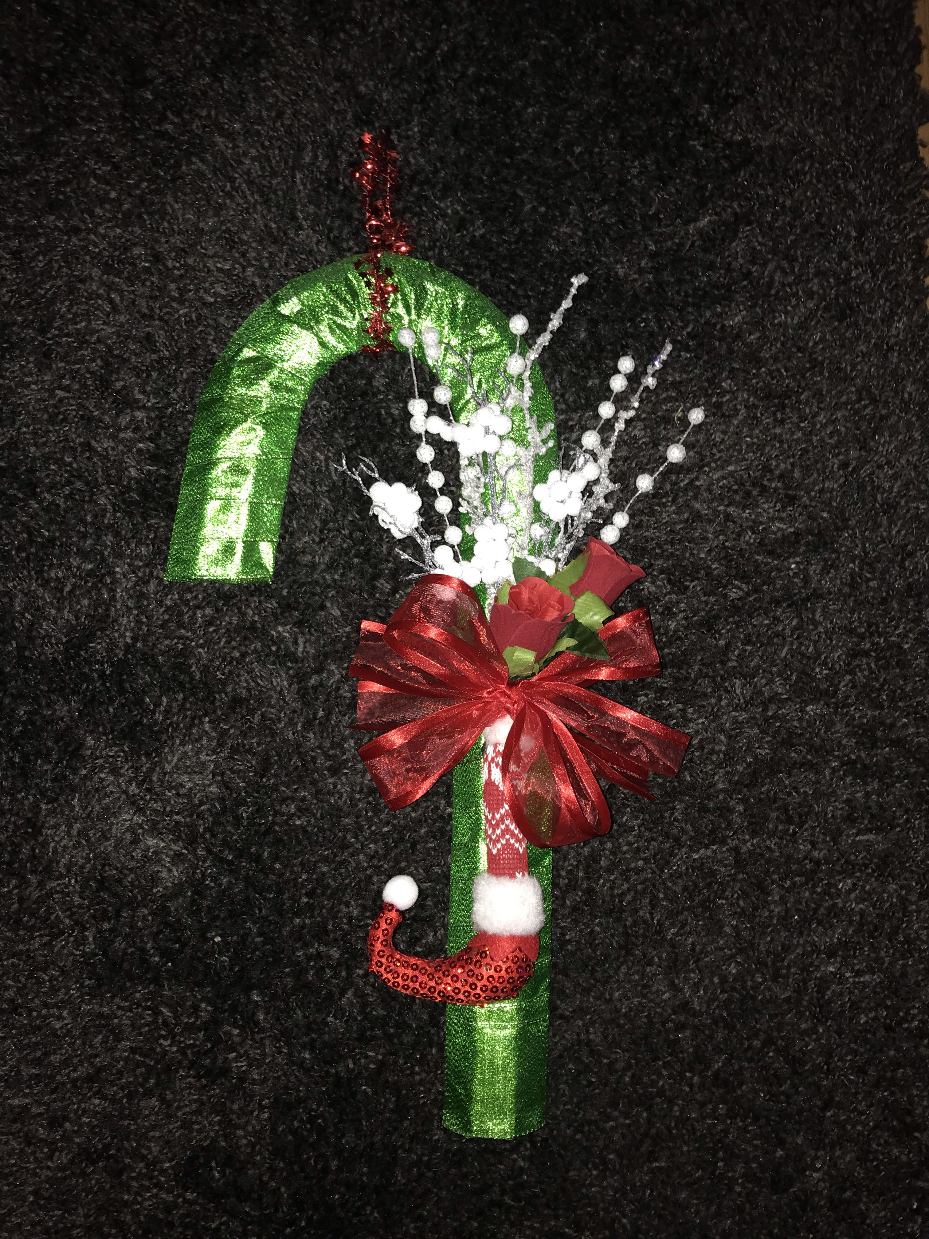 Candy Cane Wreath Christmas Candy Cane Candy Cane Wreath Candy Cane