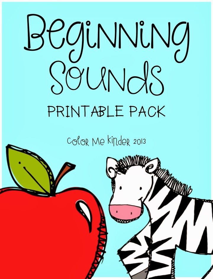 Color it! Beginning Sounds Free Sample (With images