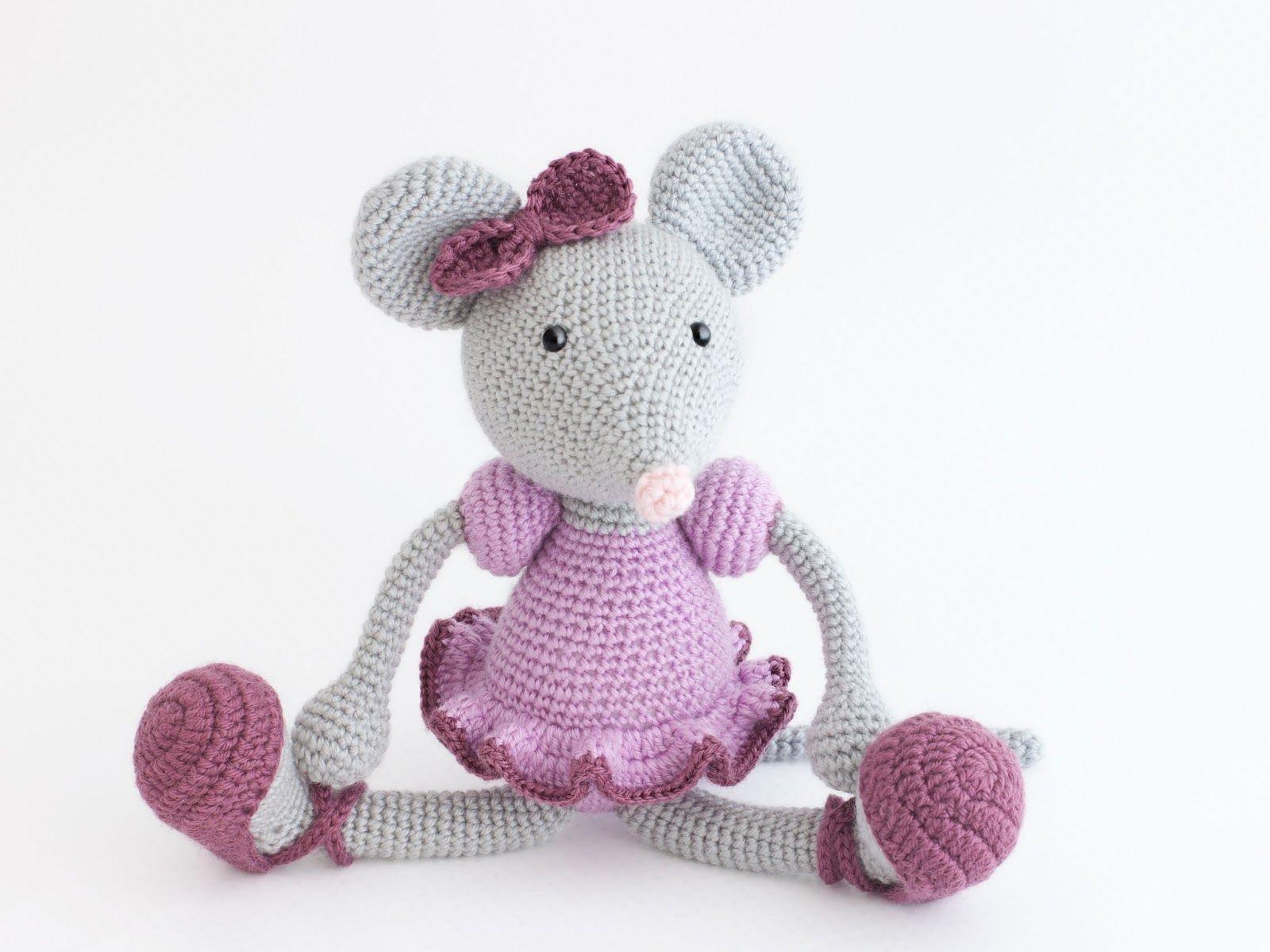 Amigurumi ratita bailarina | Crochet Toys | Pinterest | Bailarines ...