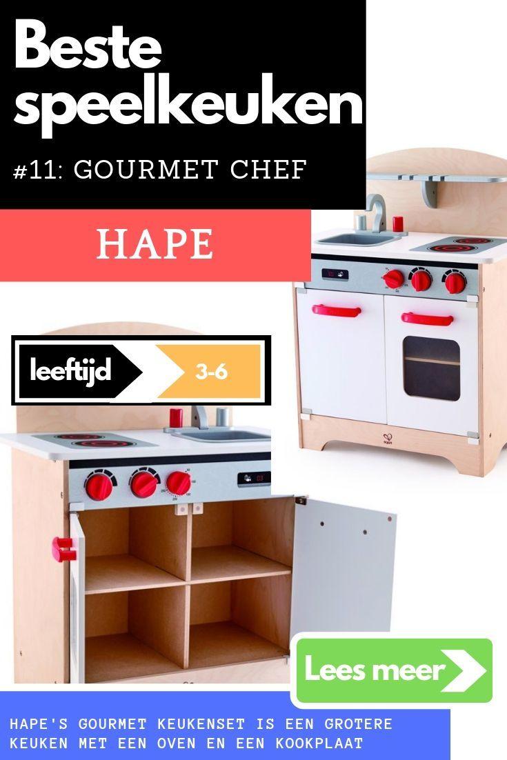 Hapes Gourmet Keukenset Is Een Grotere Keuken Met Een Oven