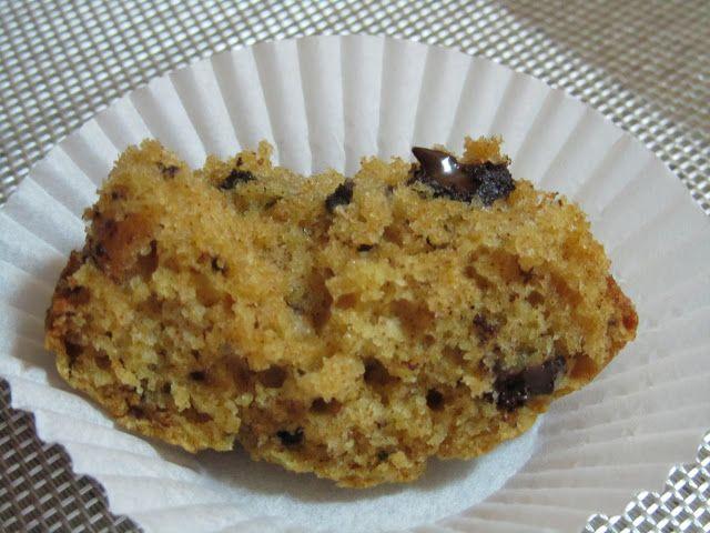 Muffins de Canela com Pedaços de Chocolate