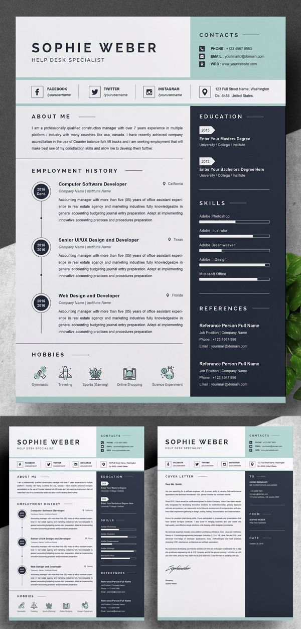 Unlimited Downloads. Resume templates and edit using the