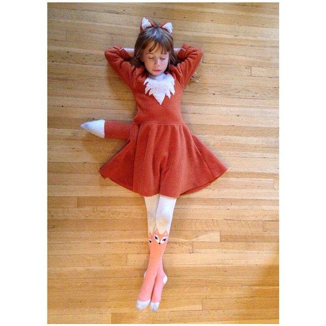 Fuch Kostüm Idee Mädchen | Fasching / Kostüme Mädchen | Pinterest ...