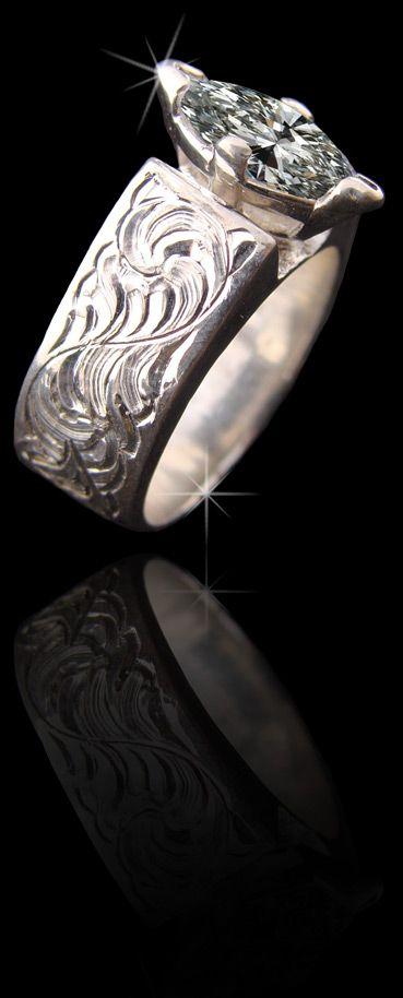 Beautiful Ring Made By Cowboyjewelers Com Western Wedding