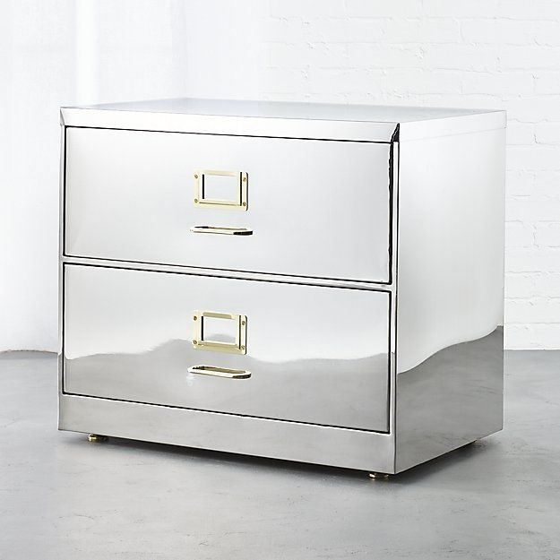 Stainless Steel File Cabinet Cb2 Filing Cabinet Cheap Office Furniture Modern File Cabinet