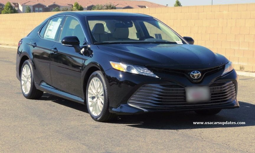 2019 toyota camry xle v6 redesign and reviews