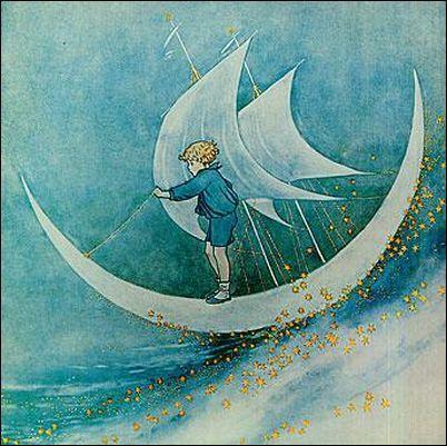 Moonboat, Ida Rentoul Outhwaite