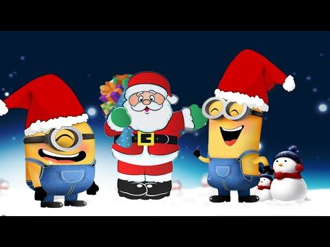 santa claus is coming to town christmas merry christmas song minions music - Minions Christmas Song