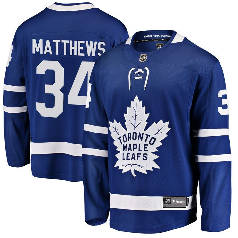 2aa8f8ee1 Auston Matthews Toronto Maple Leafs Fanatics Branded Breakaway Player Jersey  - Royal