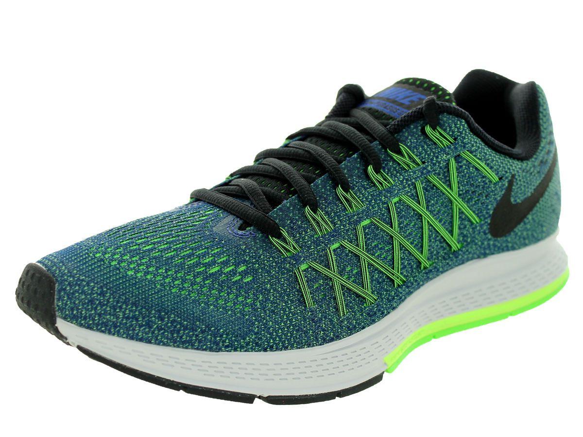 low priced e535d 2aa2c Nike Air Zoom Pegasus 32 Deep Royal Blue Black Ghost Green 749340 403