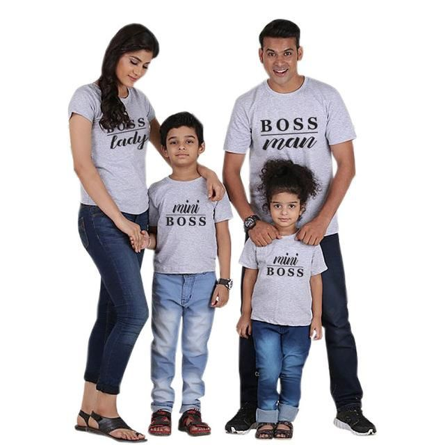 4d879e5058 Family Matching Father Mother Daughter Son T-shirts (Design 1, 2, 3, 4, 5 &  6)