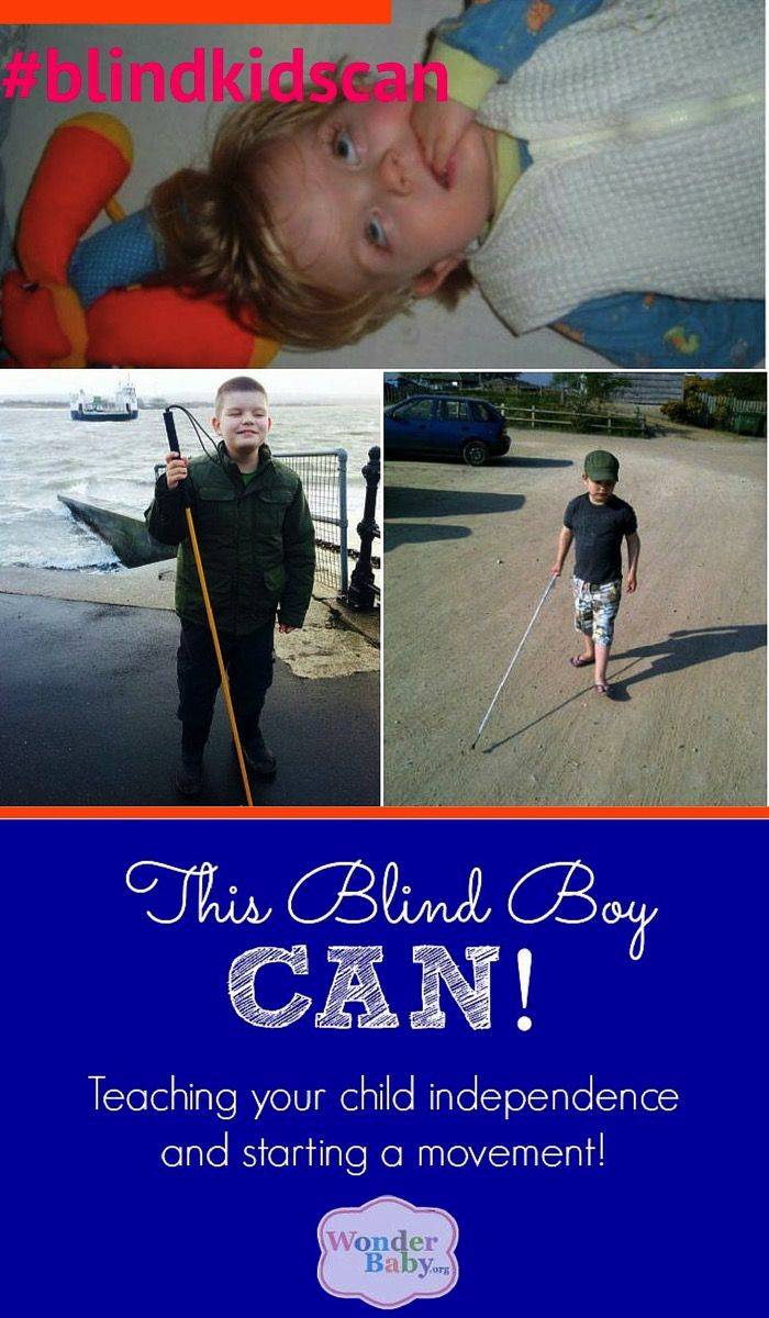 This Blind Boy Can How To Teach Your Child Independence And Start A Movement Teaching Blind Children Teaching Activities