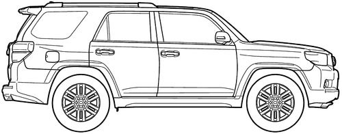 Dibujo De Toyota Tundra Para Colorear Dibujos Para