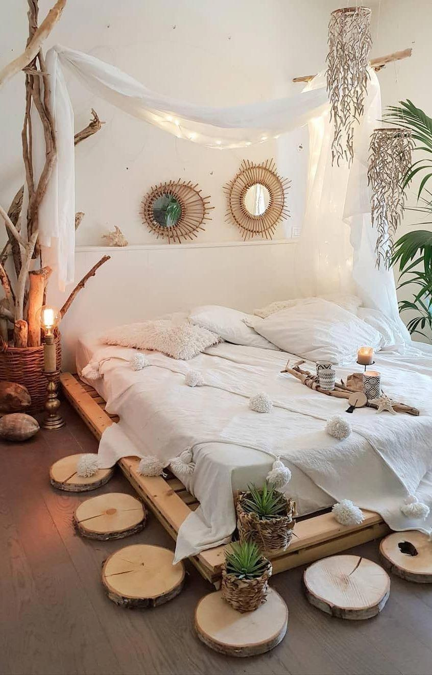 45 Beautiful And Modern Bedroom Decorating Ideas For This Year Page 39 Of 45 Evelyn S World My Dreams My Colors And My Life Bohemian Style Bedrooms Bedroom Decor Design Bohemian Style Decor Bedroom