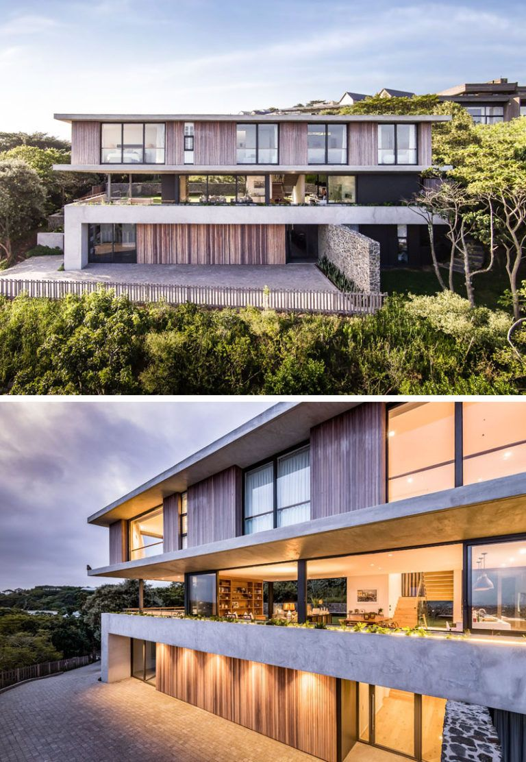 A New Contemporary House In Durban Is Surrounded By A Coastal Forest Contemporary House Plans Contemporary House House Plans South Africa