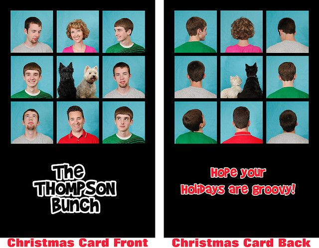 The Thompson Bunch Funny Family Christmas Cards Funny Christmas Cards Family Christmas Cards