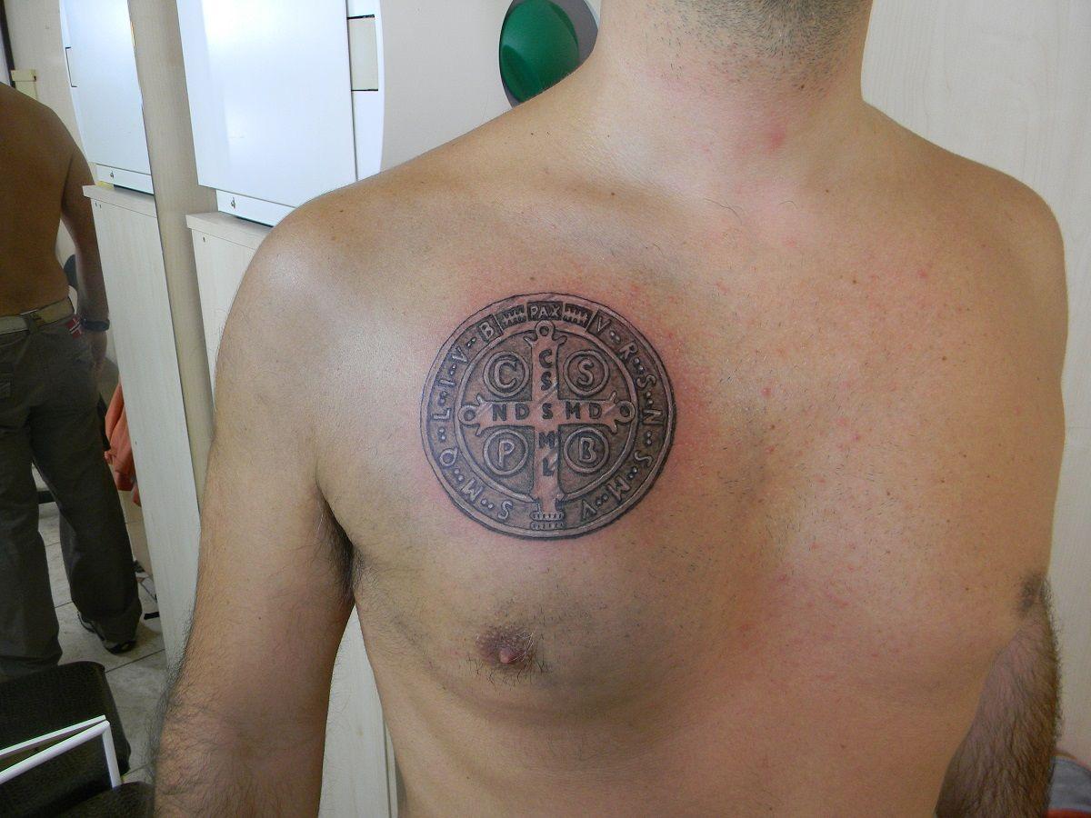 Croce Di San Benedetto Tatuaggi Tatoo Idee