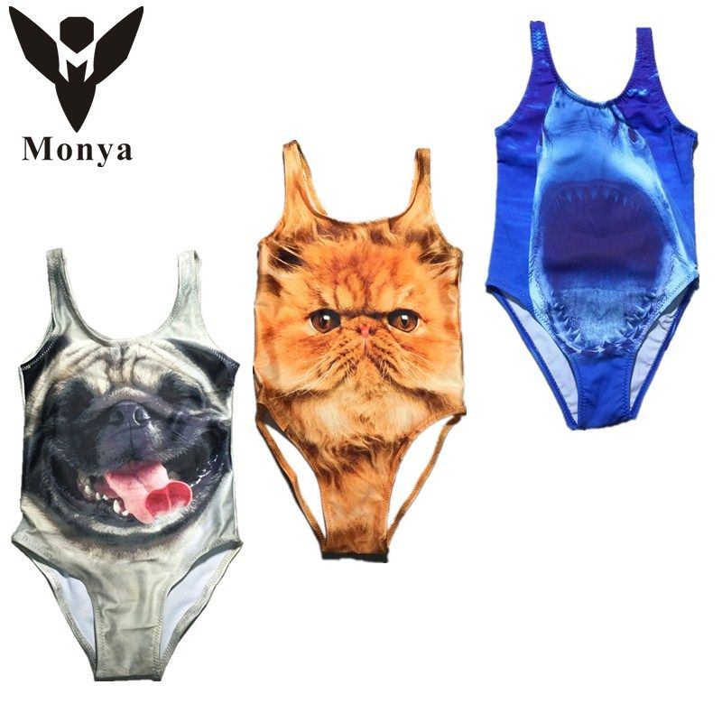$5.87 (Buy here: http://appdeal.ru/4aiz ) Baby girl swimwear bathing suit baby Cute Animals 3D childrens swim Sandy beach baby swimwear girls for just $5.87