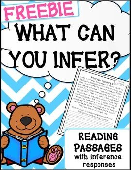 Inference Passages {read, use evidence + schema and infer ...