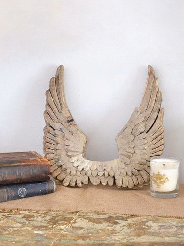Wooden Angel Wings Wall Decor best shabby cottage chic french angel wings wall decor gold wooden