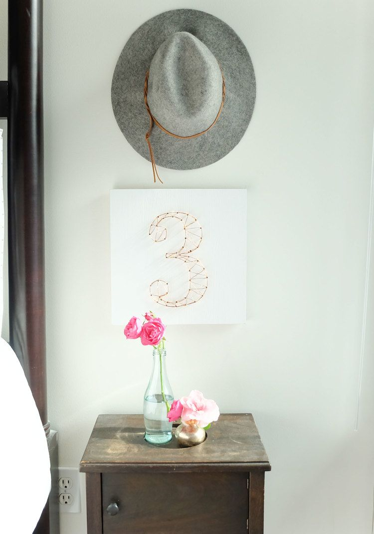 DIY STARRY LIGHT WEDDING TABLE NUMBERS OR WALL ART