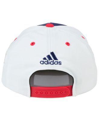 e49c3aad723 adidas New York Rangers Winter Classic Snapback Cap - White Red Navy  Adjustable