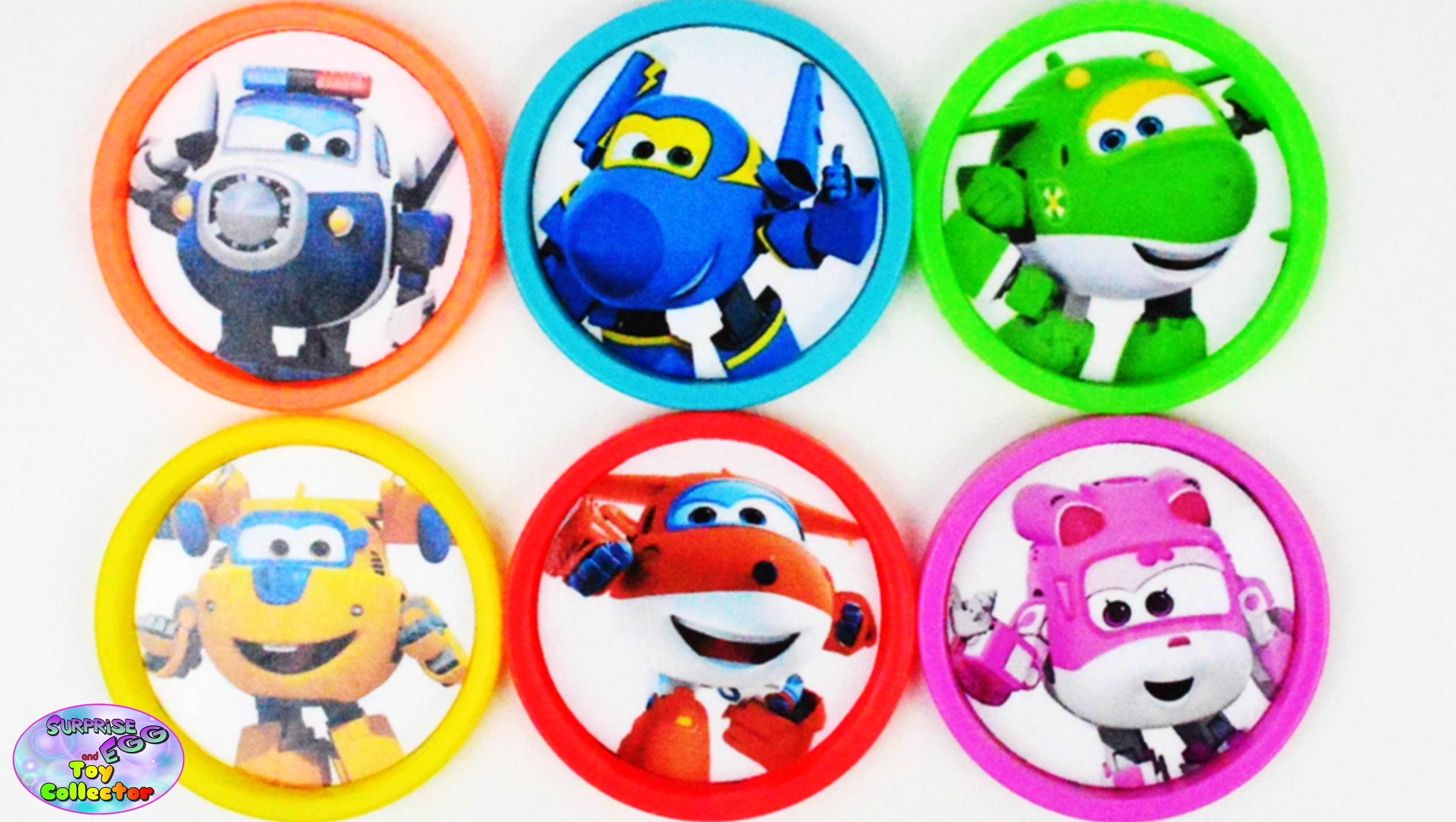 Learn Colors Super Wings My Little Pony Paw Patrol