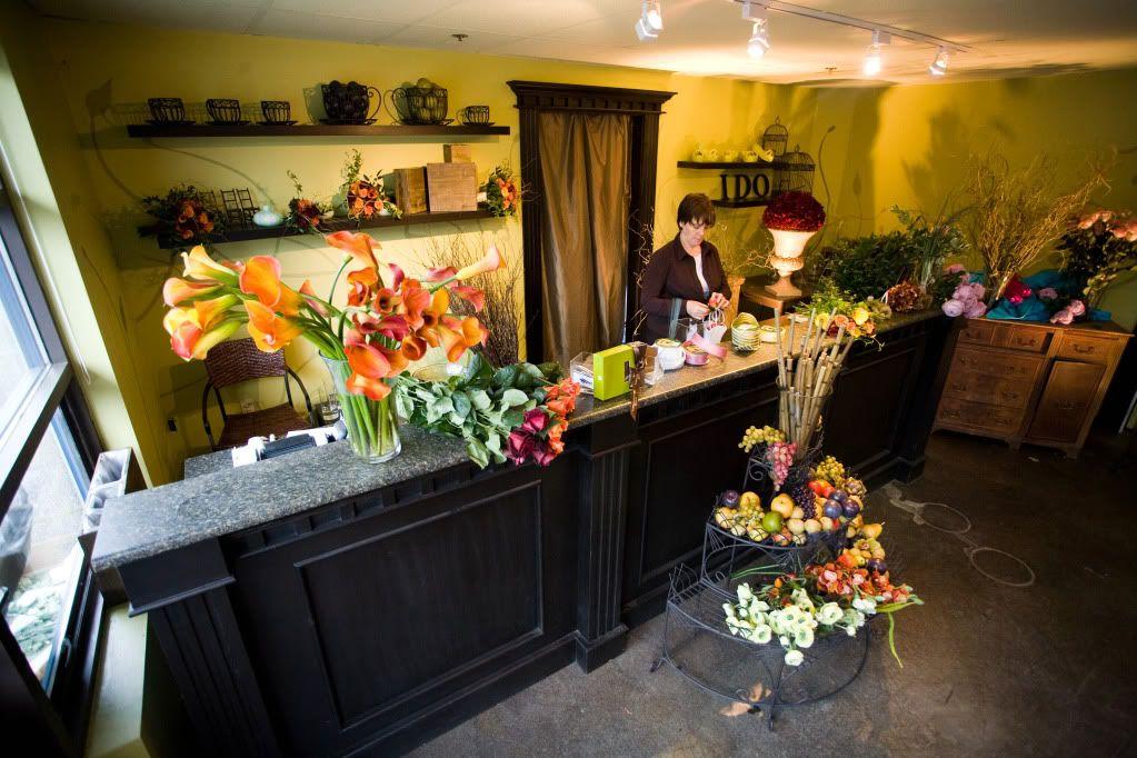 Flower Shop Decorating Ideas | Wedding Design Studio: Specializing ...