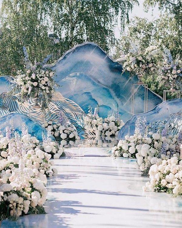 Modern Wedding Backdrop Ideas: Modern Wedding Arches And Backdrops From Caramel #weddings