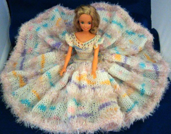 Ladyfingers - Barbie - Knit Bed Doll Dress