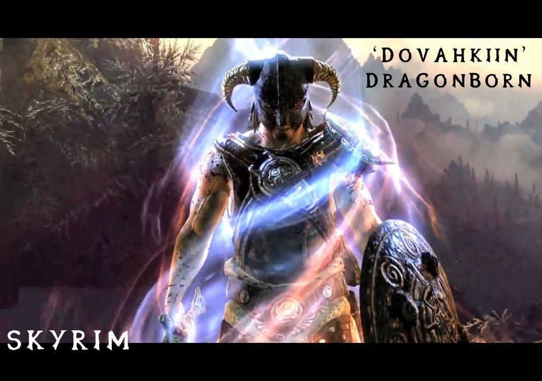 The Elder Scrolls V Skyrim Dragonborn Wallpaper Game