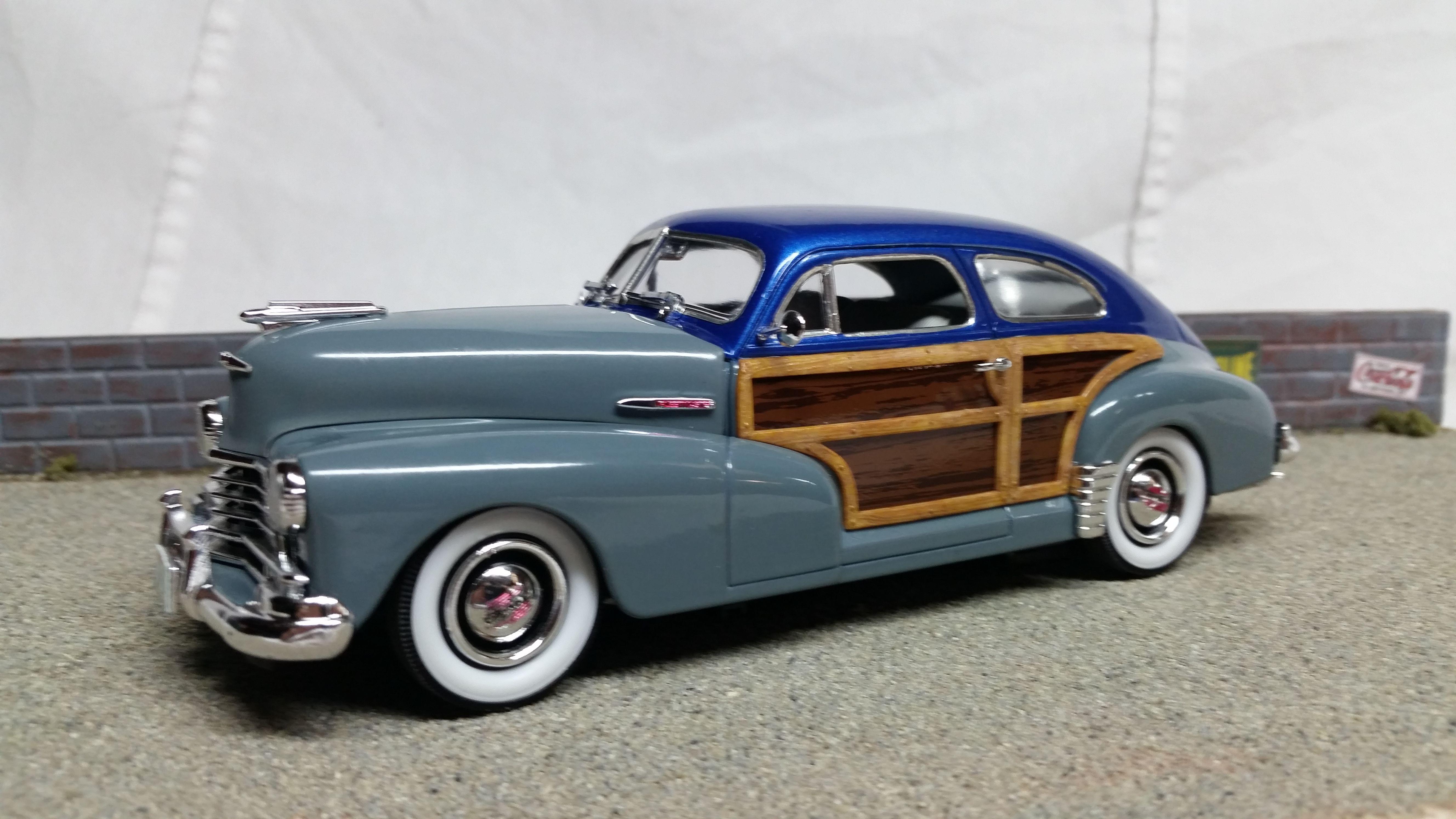 46 47 Chevrolet Fleetline Plastic Model Cars Car Model