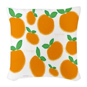 Säkkikangas Tyyny - Appelsiini - http://sisustusullakko.com/tuote/sakkikangas-tyyny-appelsiini