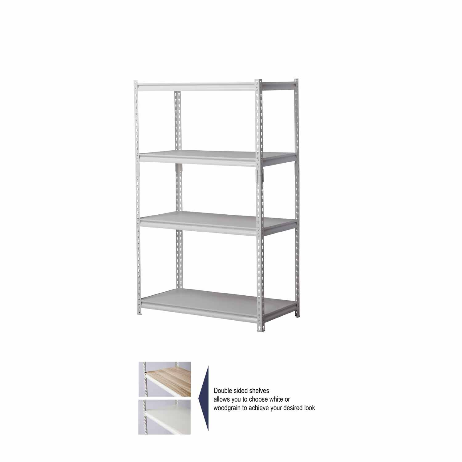 Heavy Duty Shelving Unit H 1535mm W 914mm D 457mm With Images Heavy Duty Shelving
