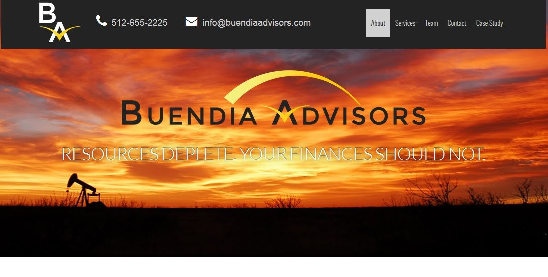 Our experienced account professionals have been in the oil & gas business with over 30 years. Our team manages oil and gas assets efficiently and records your mineral ownership, leases, assignments, documents and relates this to your production & expense history. If you require any assistance regarding oil & gas business solutions, please visit our website: http://www.buendiaadvisors.com/