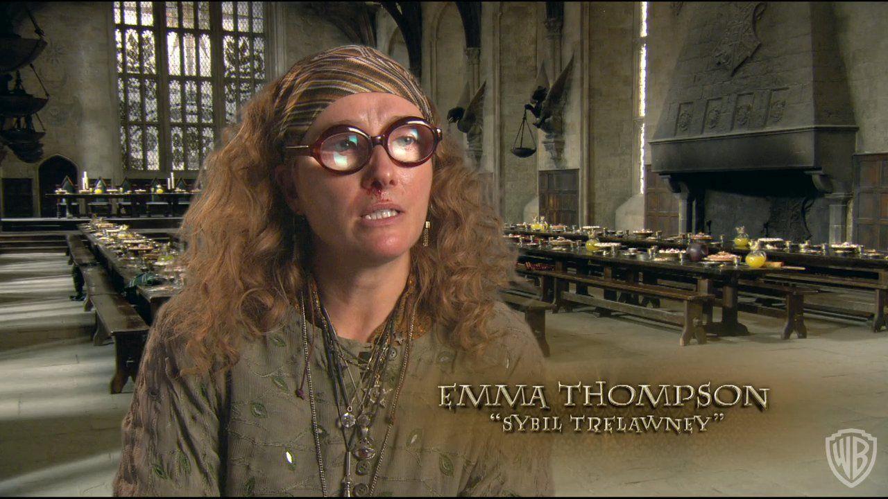 Sybill Trelawney Emma Thompson Thompson Harry
