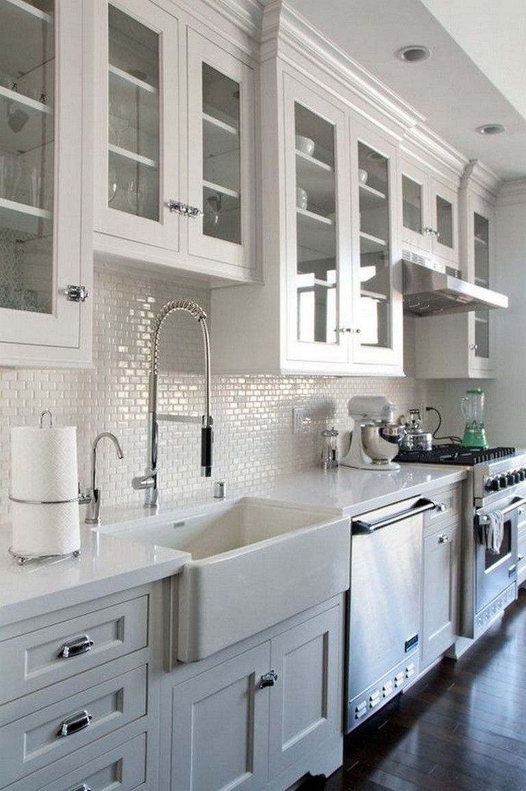 Best 105 Incredible Industrial Kitchen With Shaker Cabinets 400 x 300