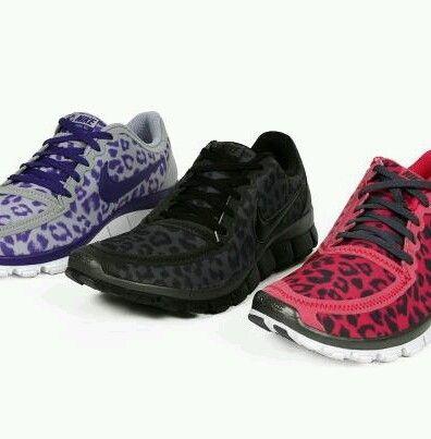 nike free run 5 pink leopard print