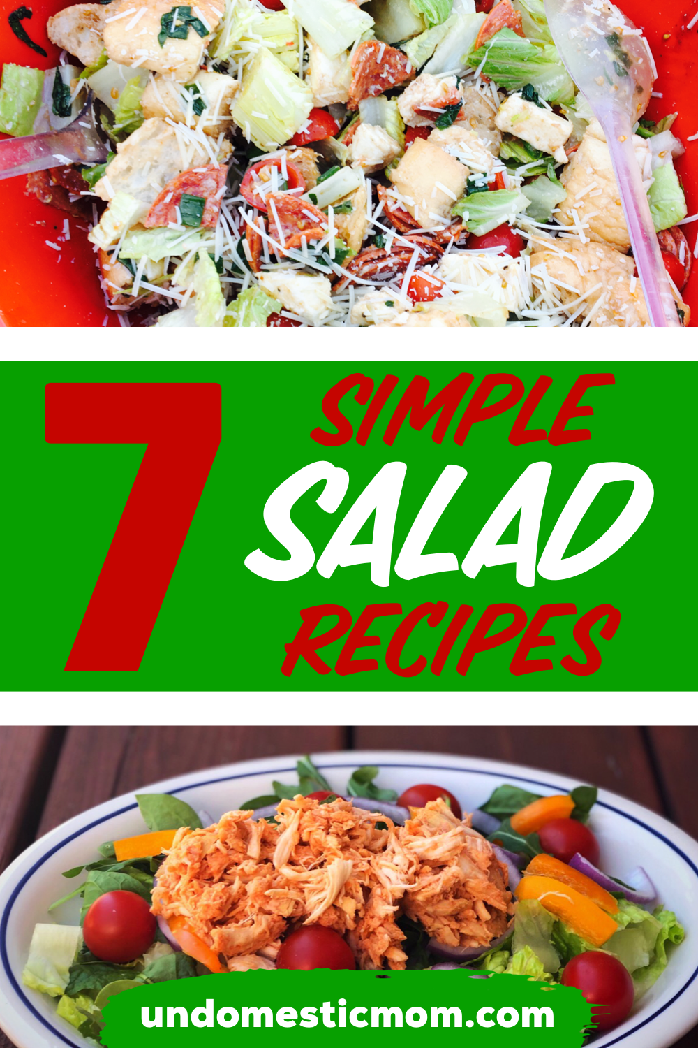7 Easy Salad Recipes: Summer Edition images