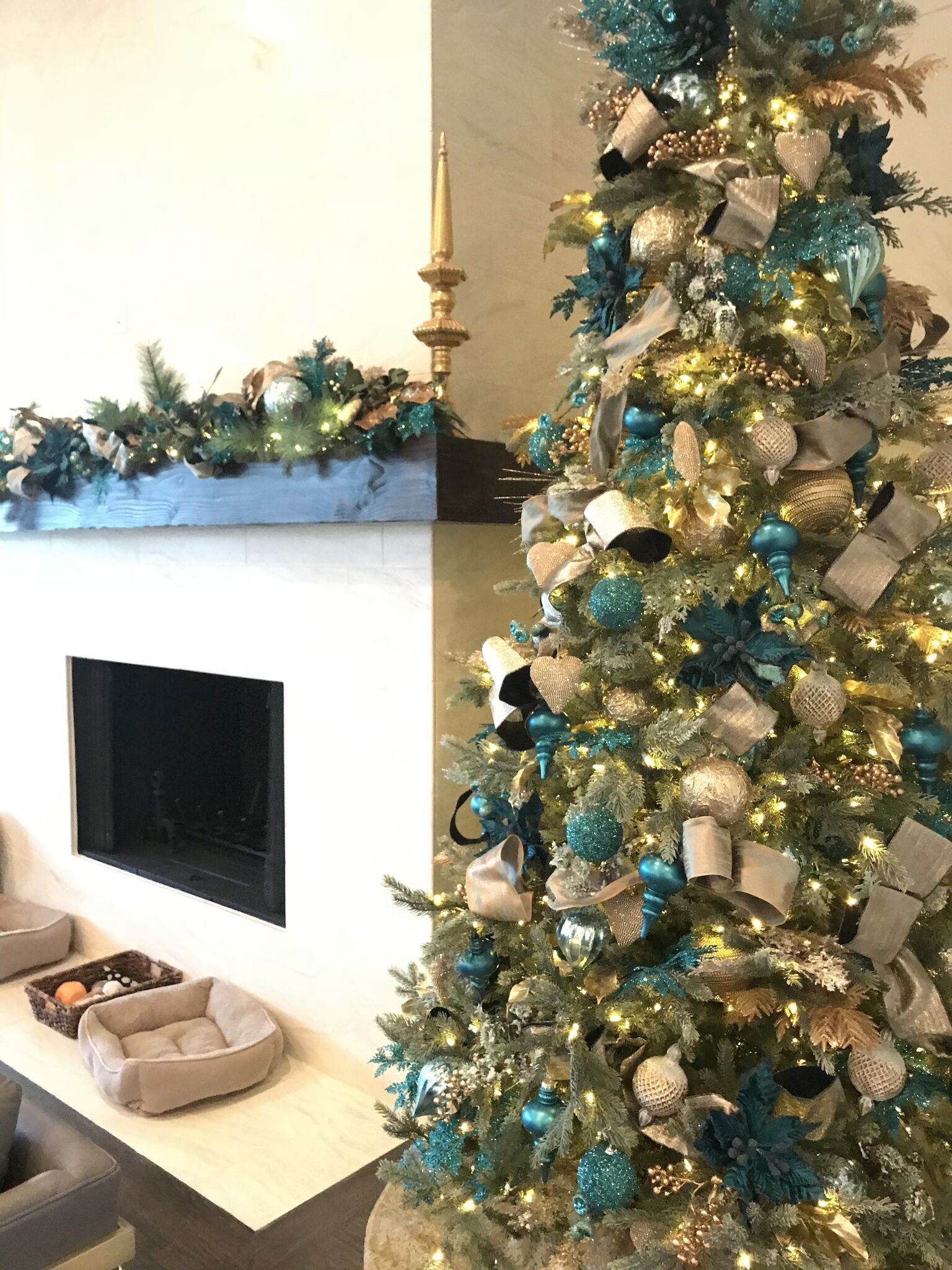 Christmas Decorating Services Are One Of The Many Interior Design Services We Offer At Baker Design G Christmas Tree Themes Holiday Decor Christmas Decorations