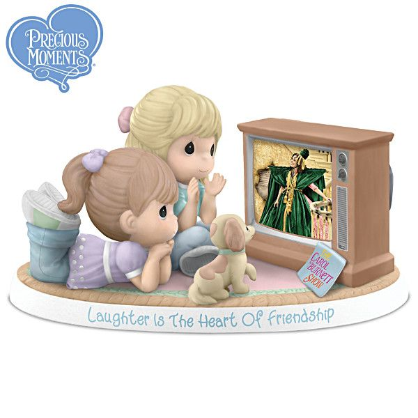 Laughter Is The Heart Of Friendship Figurine