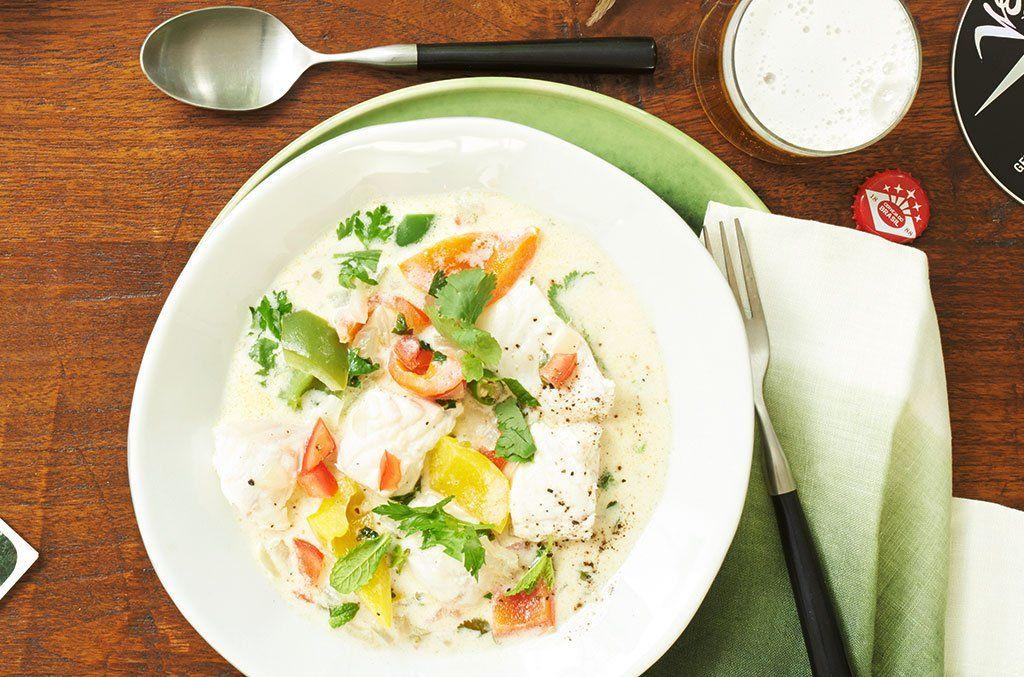 Kokosmilch und Limette machen den Eintopf fruchtig-exotisch und die frischen Kräuter geben den besonderen Kick!