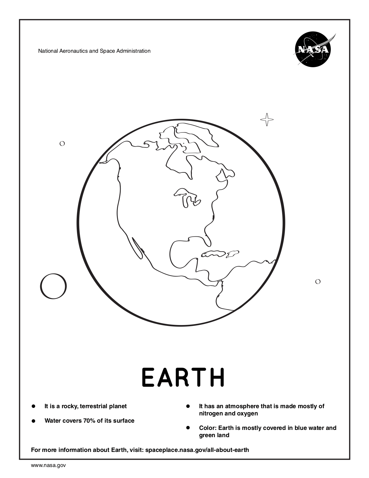 Nasa Coloring Pages