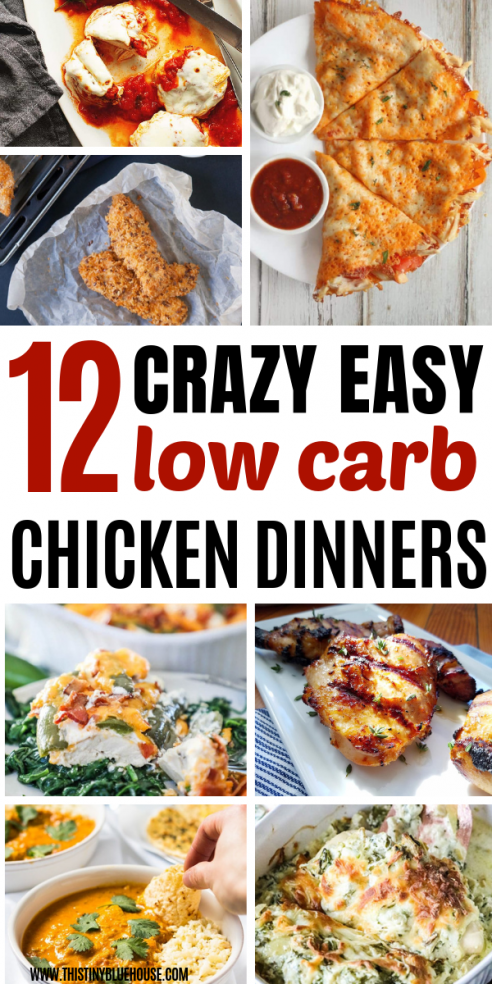 If You Like Easy Chicken Dinners Here Are 10 Easy Keto Chicken Dinner Ideas So Make Dinner Easy Wi Chicken Dinner Easy Chicken Dinners Low Carb Dinner Chicken