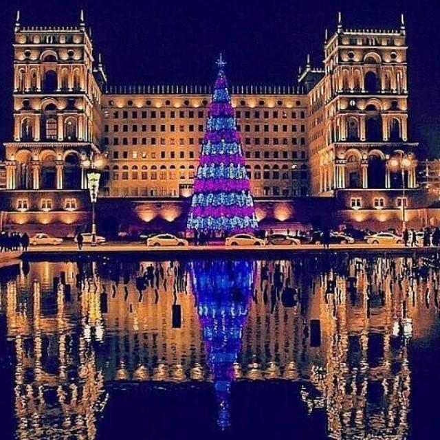 Pin By Binyat Malikov On Azerbaijan Baku Azerbaijan Travel Places To Visit Christmas Worldwide