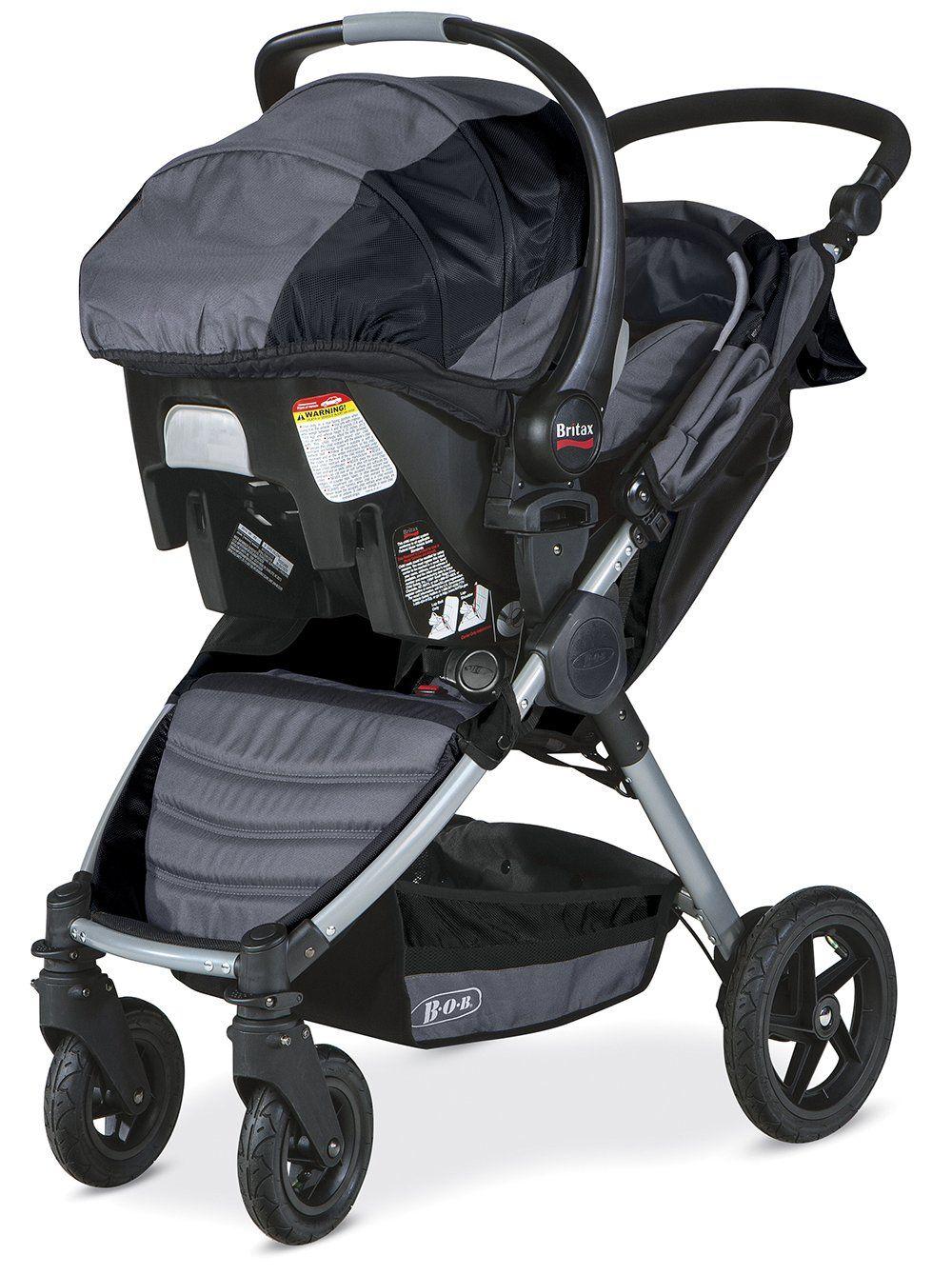 Amazon BOB Motion Travel System Black Baby Bob Stroller Carseat