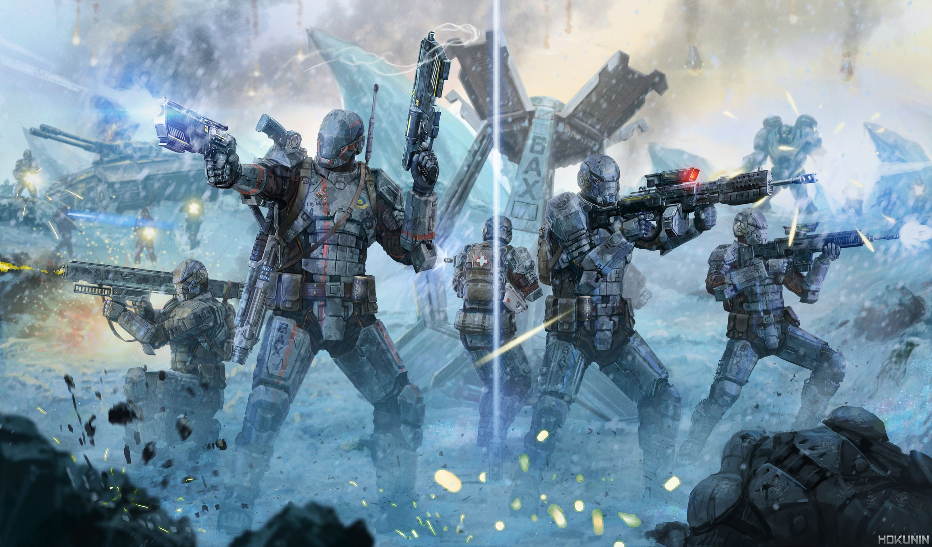image result for planetside 2 art south pole empire inspiration in