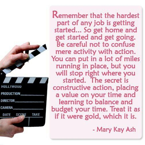 Mary Kay Ash. www.marykay.com/dholloway