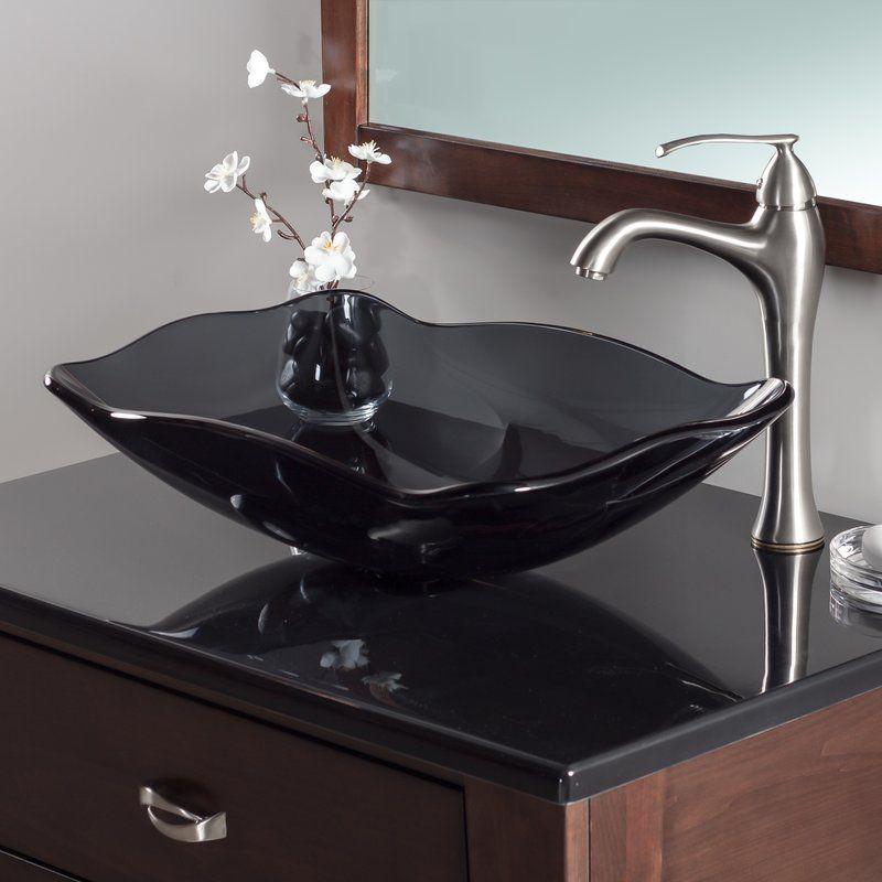 Oblong Glass Vessel Bathroom Sink Bathroom Sink Design Unique