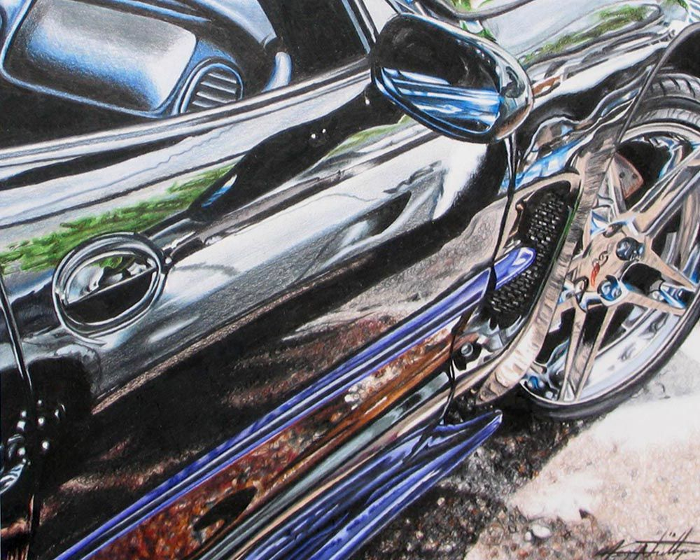 Car Colored Pencil This Is Just Amazing Teaching Pencil Art